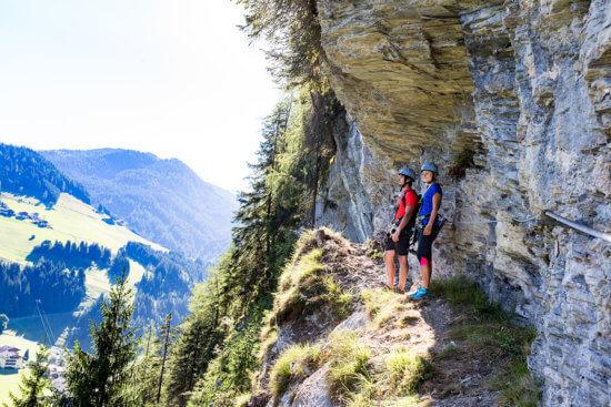 Klettern - Sommerurlaub in Wagrain