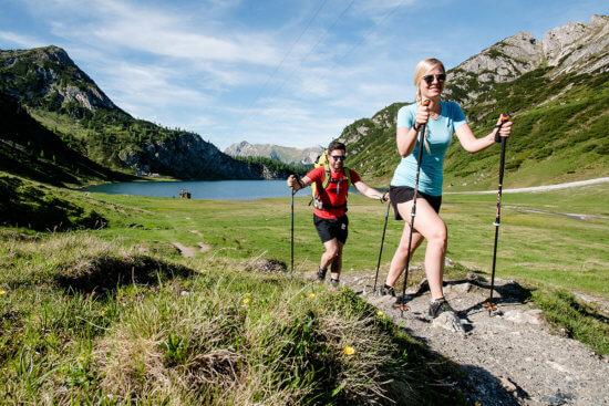 Wandern - Sommerurlaub in Wagrain