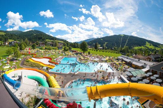 Wasserwelt Wagrain - Sommerurlaub in Wagrain